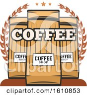 Coffee Bags And Text