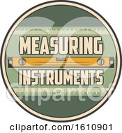Retro Styled Level Measuring Instrument Design