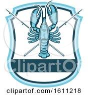 Blue Lobster Fishing Design