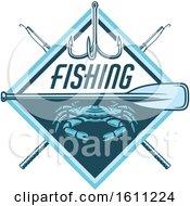 Blue Crab Fishing Design