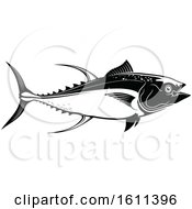 Black And White Tuna Fish