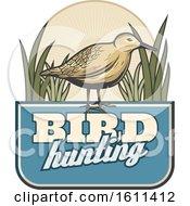 Poster, Art Print Of Bird Hunting Design