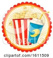 Poster, Art Print Of Popcorn And Soda