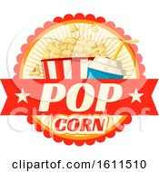 Clipart Of A Popcorn And Soda Royalty Free Vector Illustration