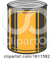 Clipart Of A Paint Design Royalty Free Vector Illustration