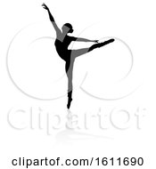 Poster, Art Print Of Silhouette Ballet Dancer