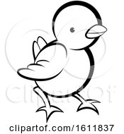 Poster, Art Print Of Lineart Cute Chick