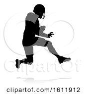 Poster, Art Print Of American Football Player Silhouette