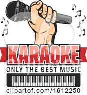 Poster, Art Print Of Karaoke Music Design