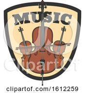 Poster, Art Print Of Bass And Cello Music Design