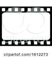 Clipart Of A Film Strip Royalty Free Vector Illustration by Vector Tradition SM
