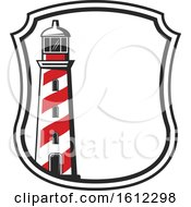 Clipart Of A Lighthouse Royalty Free Vector Illustration