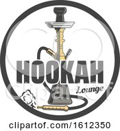 Clipart Of A Hookah Royalty Free Vector Illustration by Vector Tradition SM
