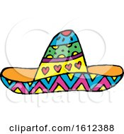 Dia De Muertos Day Of The Dead Sombrero Hat