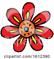 Poster, Art Print Of Dia De Muertos Day Of The Dead Themed Flower