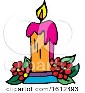 Dia De Muertos Day Of The Dead Candle