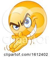 Yellow Emoji Scheming