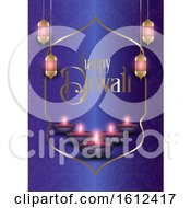 Poster, Art Print Of Decorative Background For Diwali