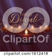 Decorative Diwali Background Design