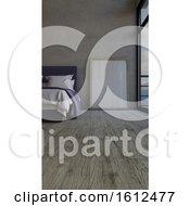 Poster, Art Print Of 3d Contemporary Bedroom Interior