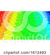 Poster, Art Print Of 3d Geometric Abstract Background