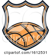 Poster, Art Print Of Baskeball Shield Design