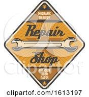 Poster, Art Print Of Retro Styled Automotive Design