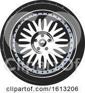 Poster, Art Print Of Tire Automotive Design