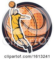 Poster, Art Print Of Basketball Design