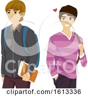 Teen Guy Like Gay Illustration