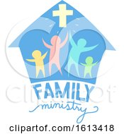 Family Ministry Lettering Illustration