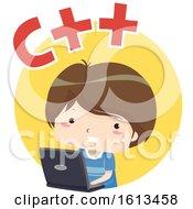 Kid Boy C Plus Plus Illustration