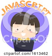 Kid Boy Javascript Illustration