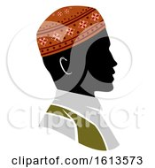 Silhouette Man Muslim Illustration