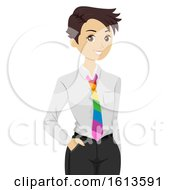 Girl Lesbian Illustration