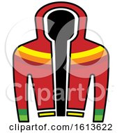 Clipart Of A Colorful Jacket Royalty Free Vector Illustration
