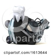 November 10th, 2018: Clipart Of A 3d Business Zebra On A White Background Royalty Free Illustration by Julos