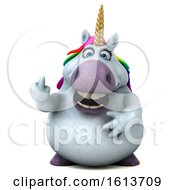 November 11th, 2018: Clipart Of A 3d Chubby Unicorn On A White Background Royalty Free Illustration by Julos