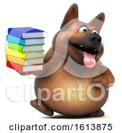 November 10th, 2018: Clipart Of A 3d German Shepherd Dog On A White Background Royalty Free Illustration by Julos