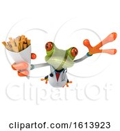November 10th, 2018: Clipart Of A 3d Green Doctor Frog On A White Background Royalty Free Illustration by Julos