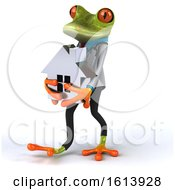 November 13th, 2018: Clipart Of A 3d Green Doctor Frog On A White Background Royalty Free Illustration by Julos