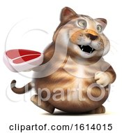 November 10th, 2018: Clipart Of A 3d Tabby Kitty Cat On A White Background Royalty Free Illustration by Julos