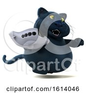 November 10th, 2018: Clipart Of A 3d Black Kitty Cat On A White Background Royalty Free Illustration by Julos