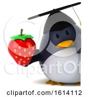 November 10th, 2018: Clipart Of A 3d Chubby Penguin Graduate On A White Background Royalty Free Illustration by Julos