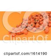 Stylised Jack O Lantern Pumpkin