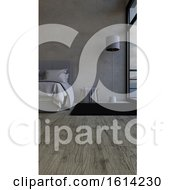 3D Contemporary Bedroom Interior