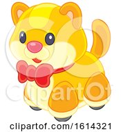 Clipart Of A Cat Kids Toy Royalty Free Vector Illustration