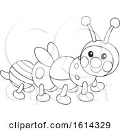Lineart Caterpillar Toy
