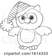 October 21st, 2018: Clipart Of A Lineart Owl Toy Royalty Free Vector Illustration by Alex Bannykh