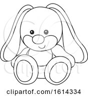 Lineart Bunny Rabbit Toy